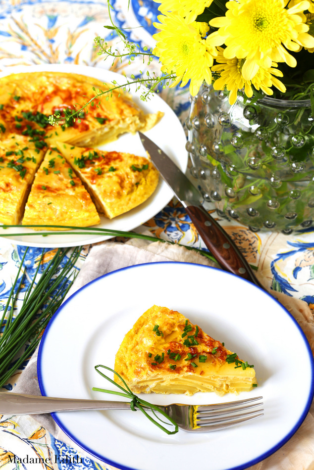 Tortilla z ziemniaków