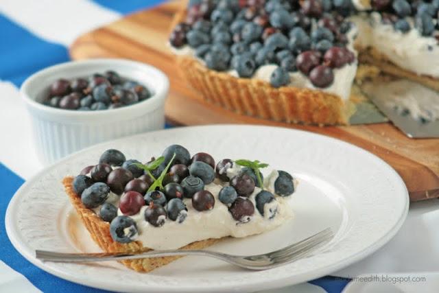 Tarta z owocami i mascarpone