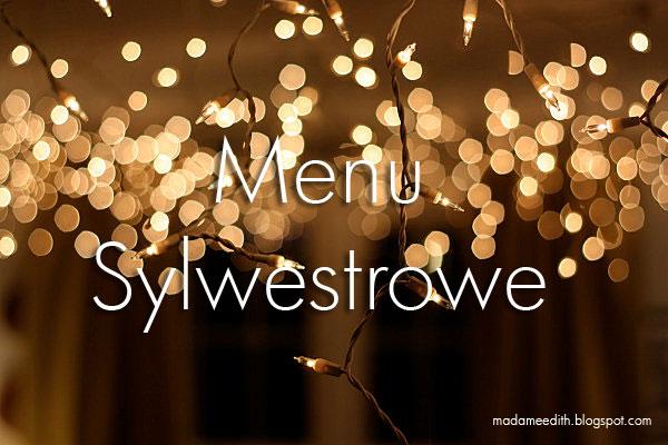 menu sylwestrowe