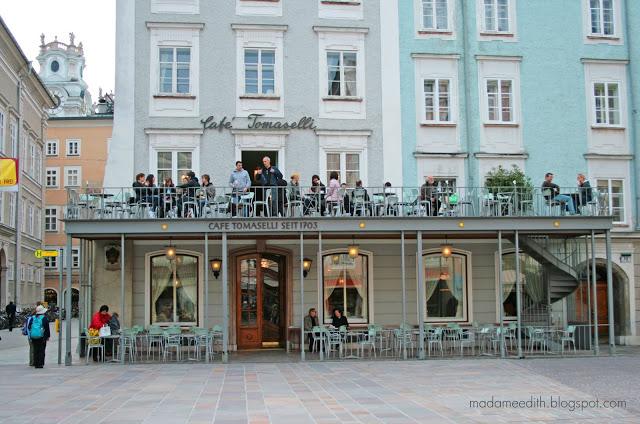 Salzburg Café Tomaselli
