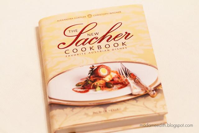 the new sacher cookbook