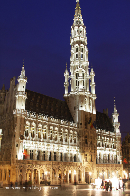 Bruxelles rathaus
