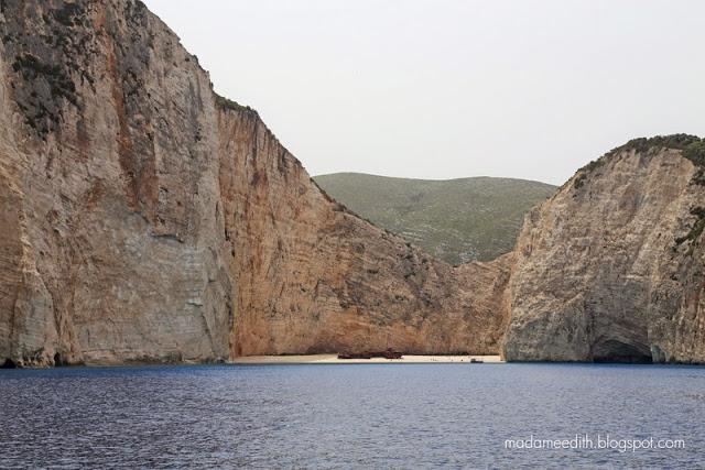 Zakynthos shipwreck cove