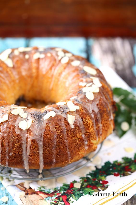 ciasto drożdżowe z makiem
