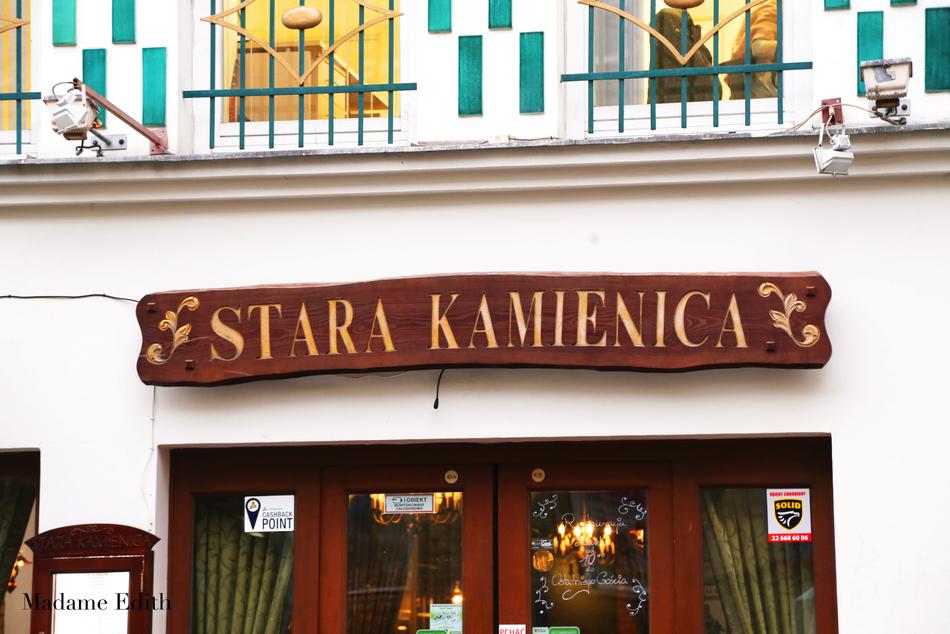 Restauracja Stara Kamienica
