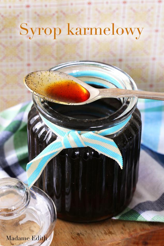 syrop karmelowy do kawy