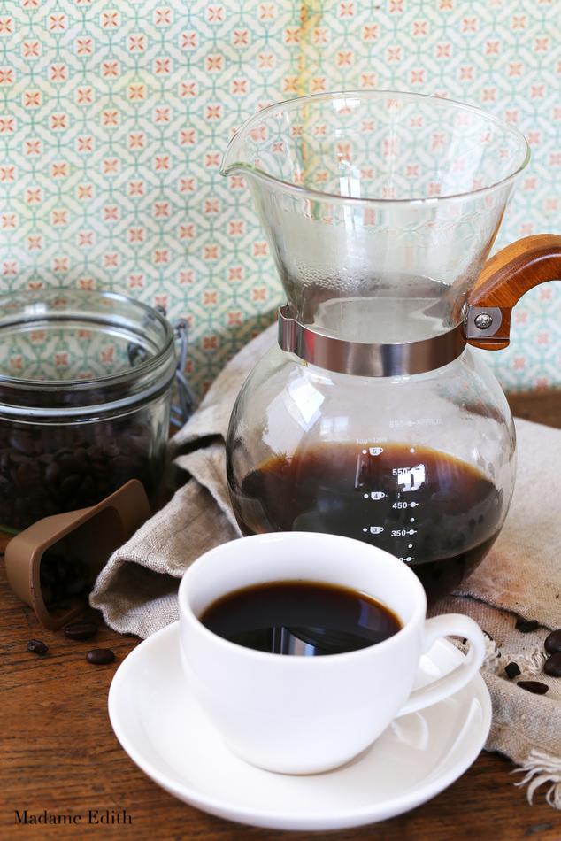 jak parzyć kawę w chemexie
