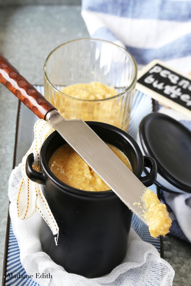 domowe masło orzechowe