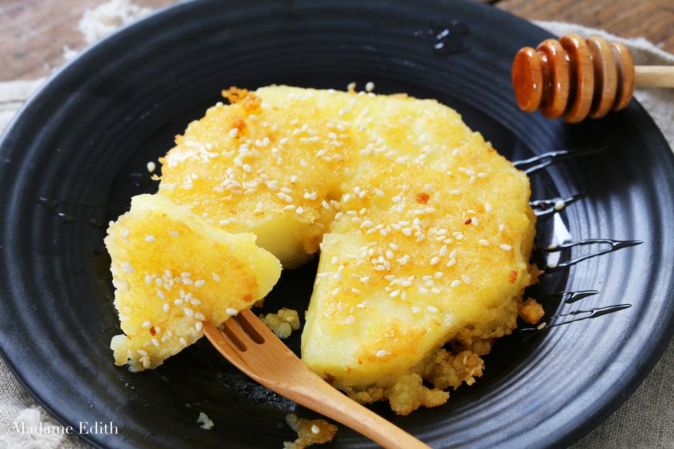 ananas w cieście