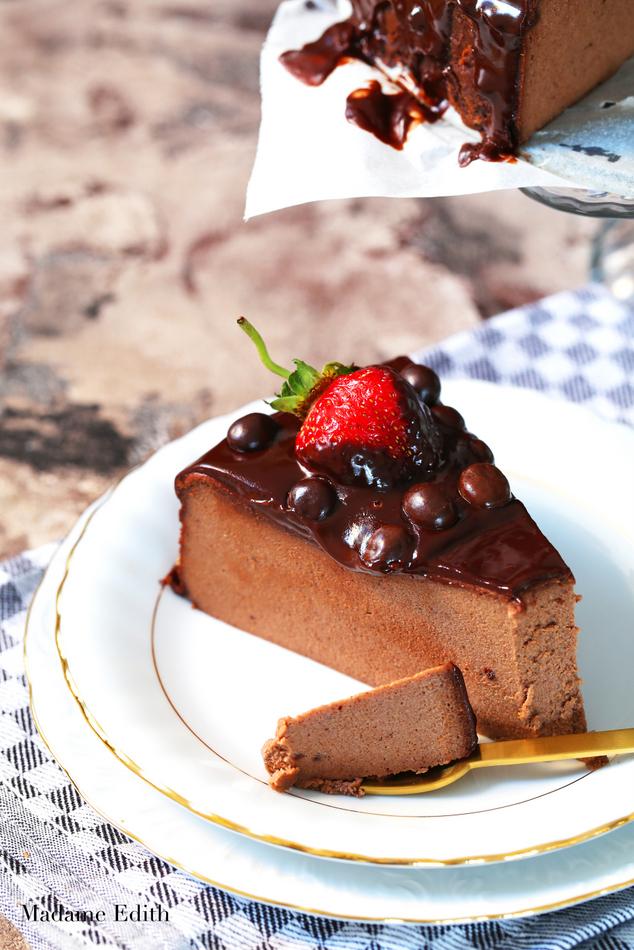 sernik kawowo-czekoladowy