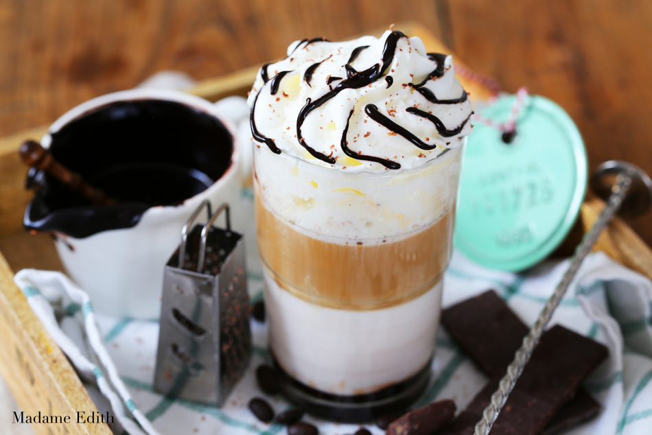 czekoladowa latte
