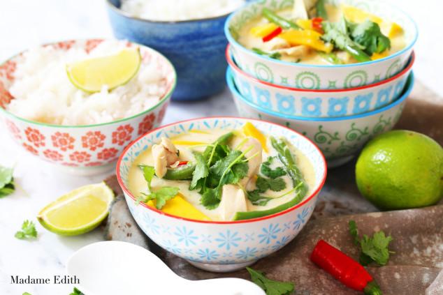 curry z kurczakiem i mango 4