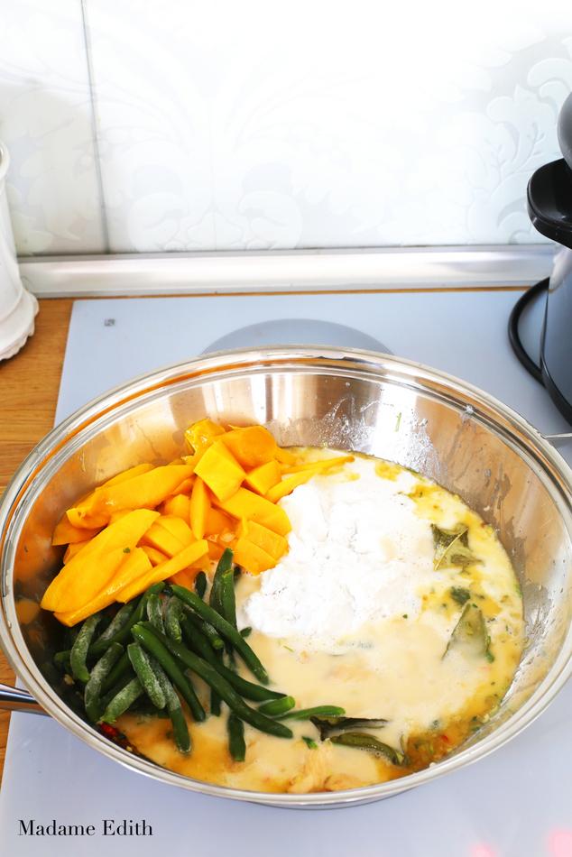 curry z kurczakiem i mango 8