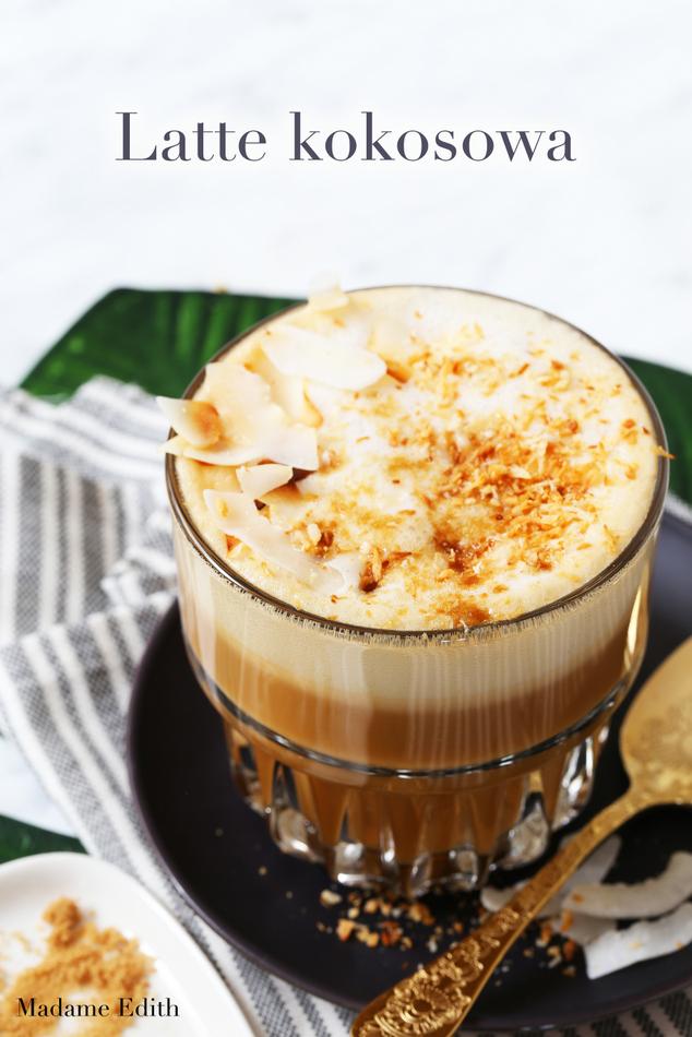 latte kokosowa
