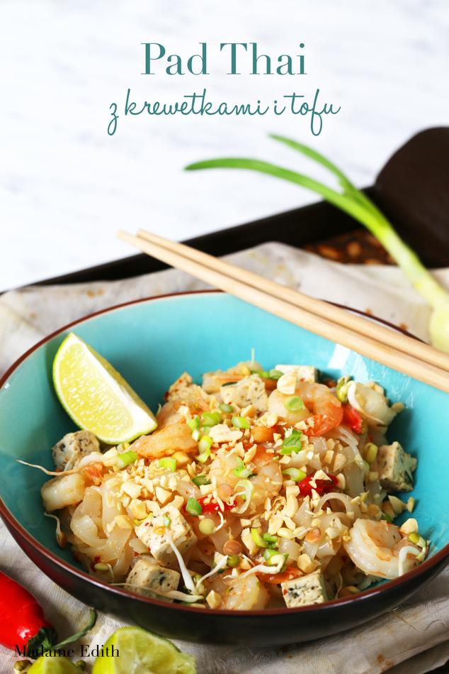 pad thai z krewetkami i tofu 1
