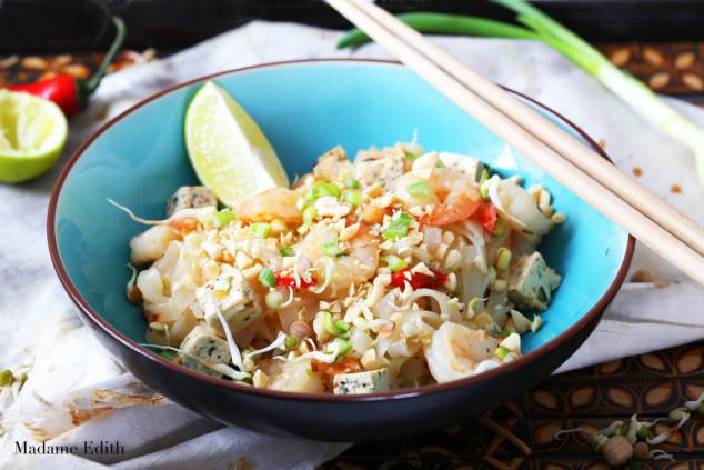 pad thai z krewetkami i tofu 10