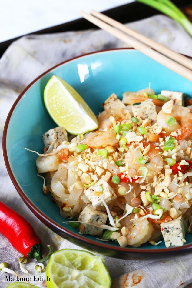 pad thai z krewetkami i tofu 11