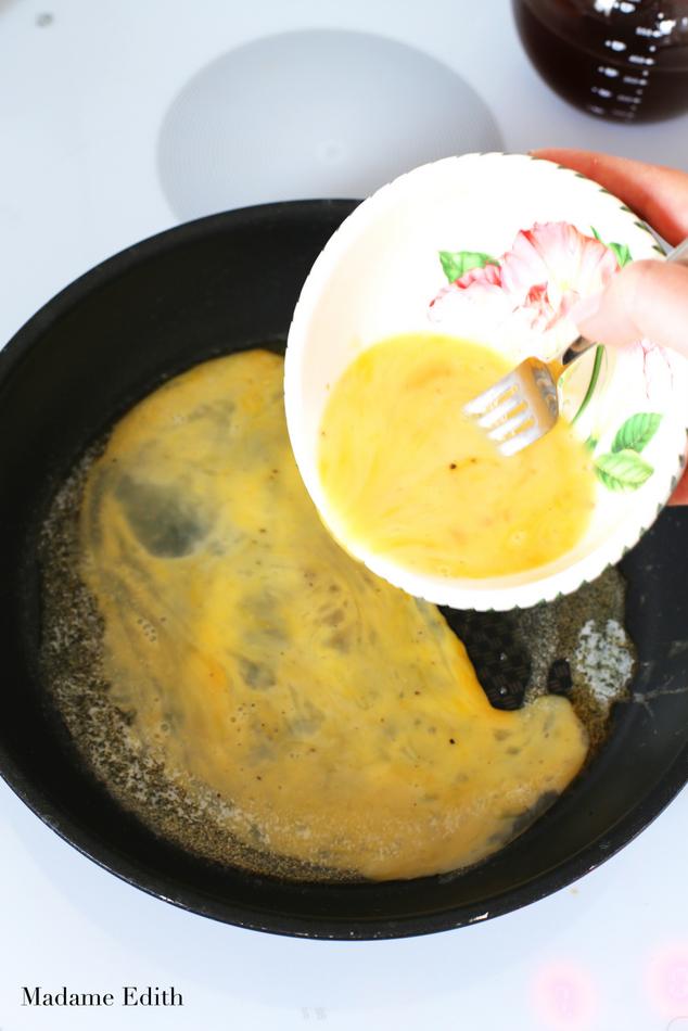 omlet z łososiem 7