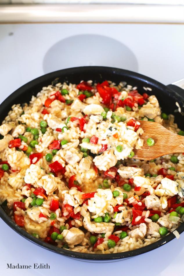 risotto z kurczakiem 5