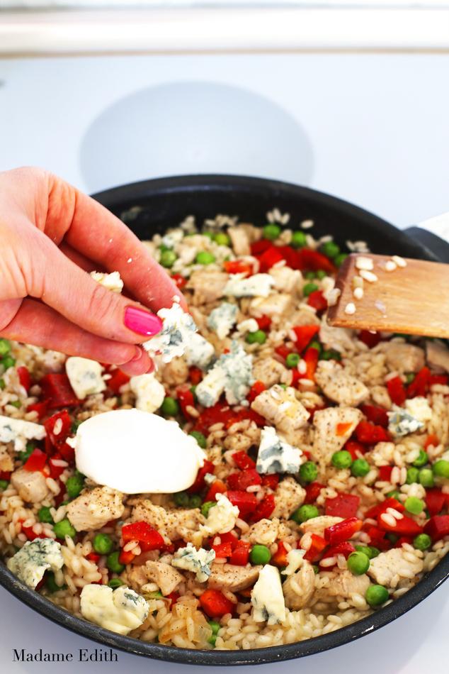 risotto z kurczakiem 6