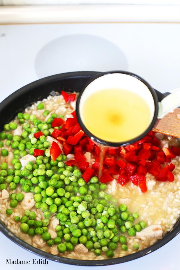 risotto z kurczakiem 7