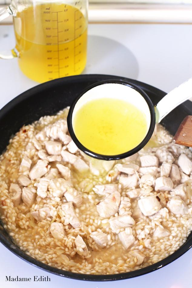 risotto z kurczakiem 8