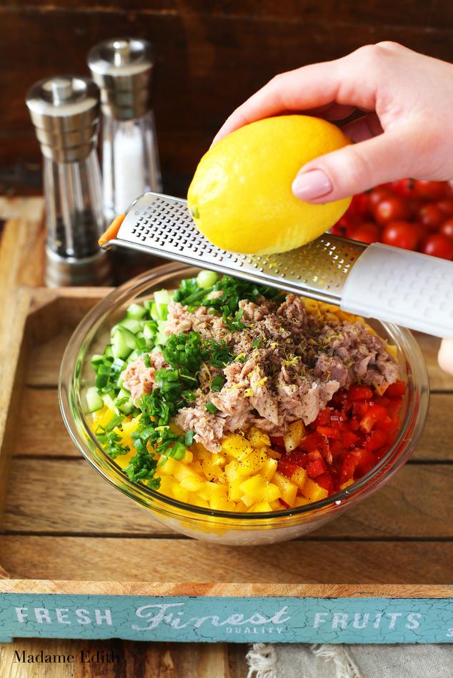 sałatka ryżowa z tuńczykiem 6