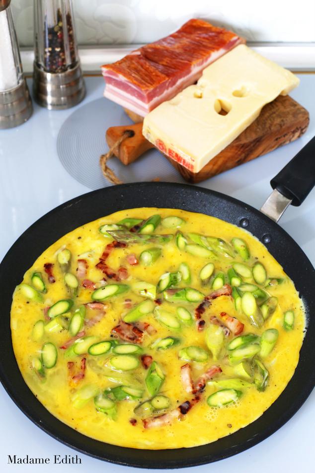 omlet ze szparagami 2