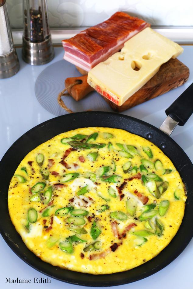omlet ze szparagami 3