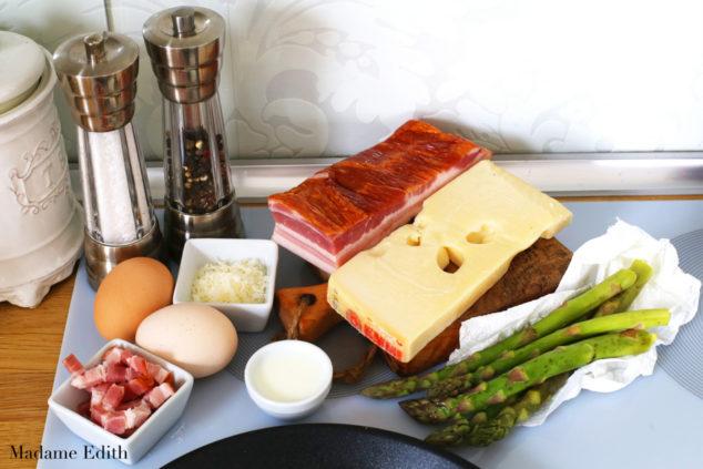 omlet ze szparagami 5