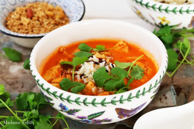 zupa pomidorowa z mlekiem kokosowym 1