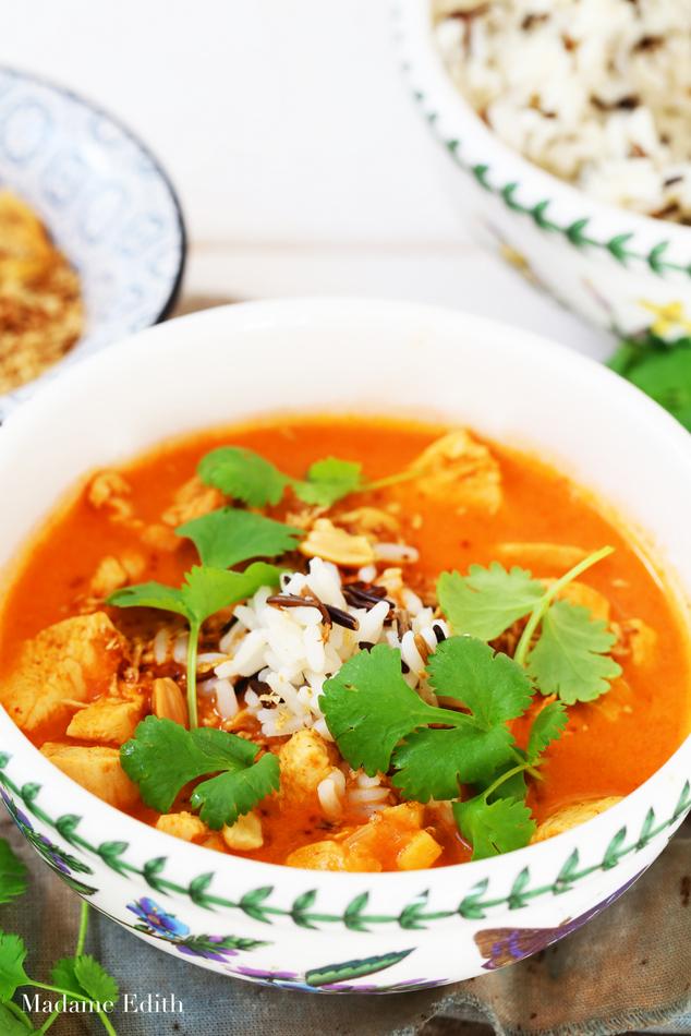 zupa pomidorowa z mlekiem kokosowym 3