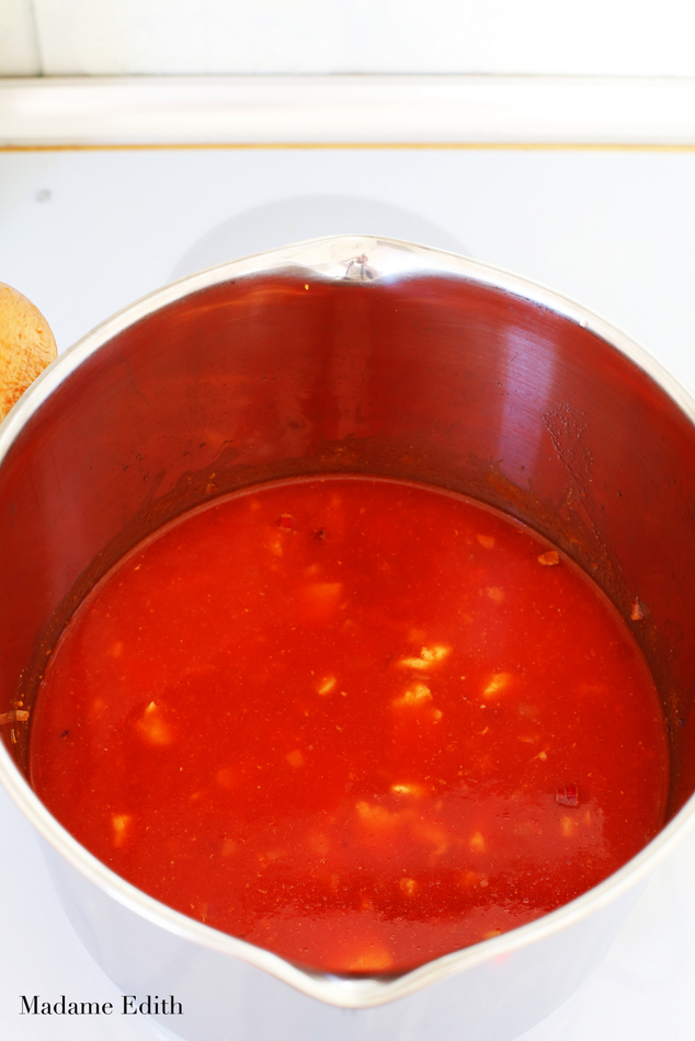 zupa pomidorowa z mlekiem kokosowym 5