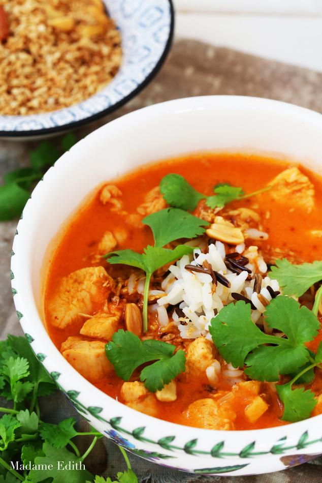 zupa pomidorowa z mlekiem kokosowym 8