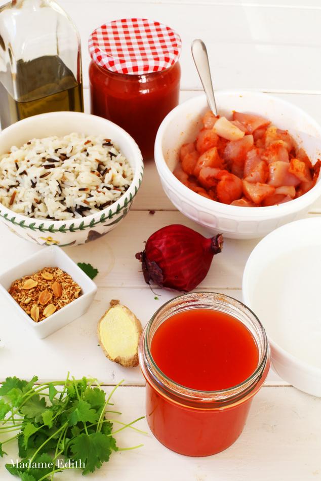 zupa pomidorowa z mlekiem kokosowym 9