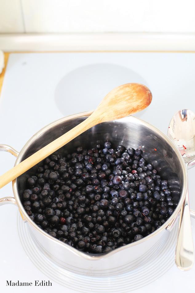 konfitura jagodowa