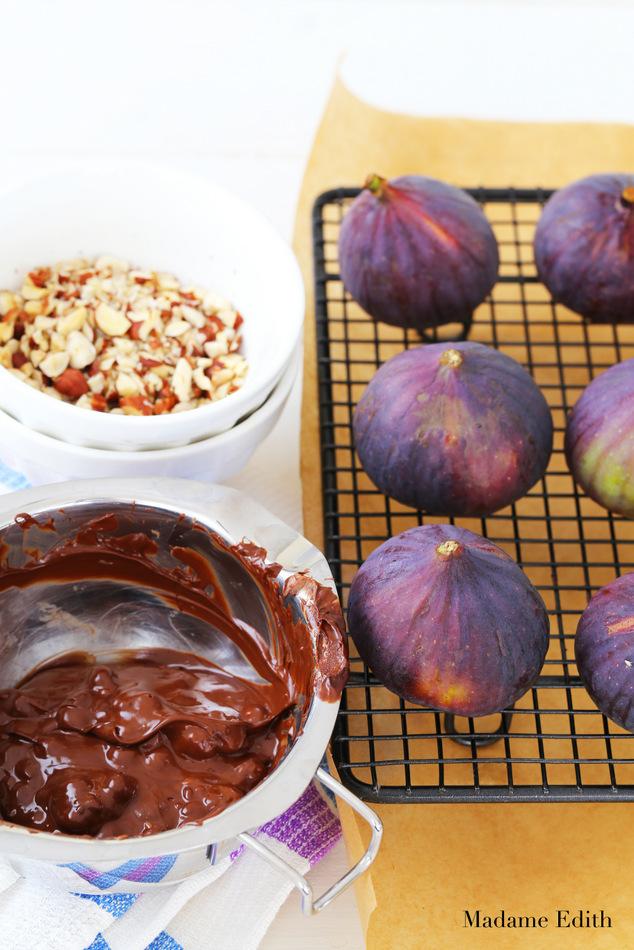 figi w czekoladzie