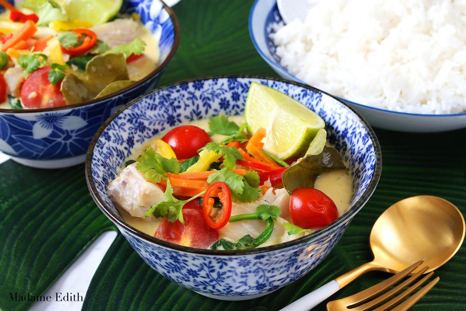 kokosowe curry z warzywami