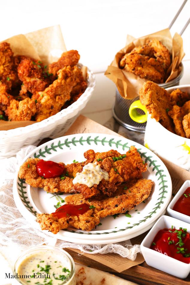 stripsy z kurczaka