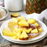 racuchy z ananasem