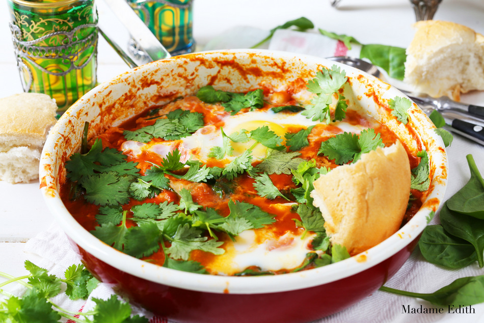 jajka po marokańsku