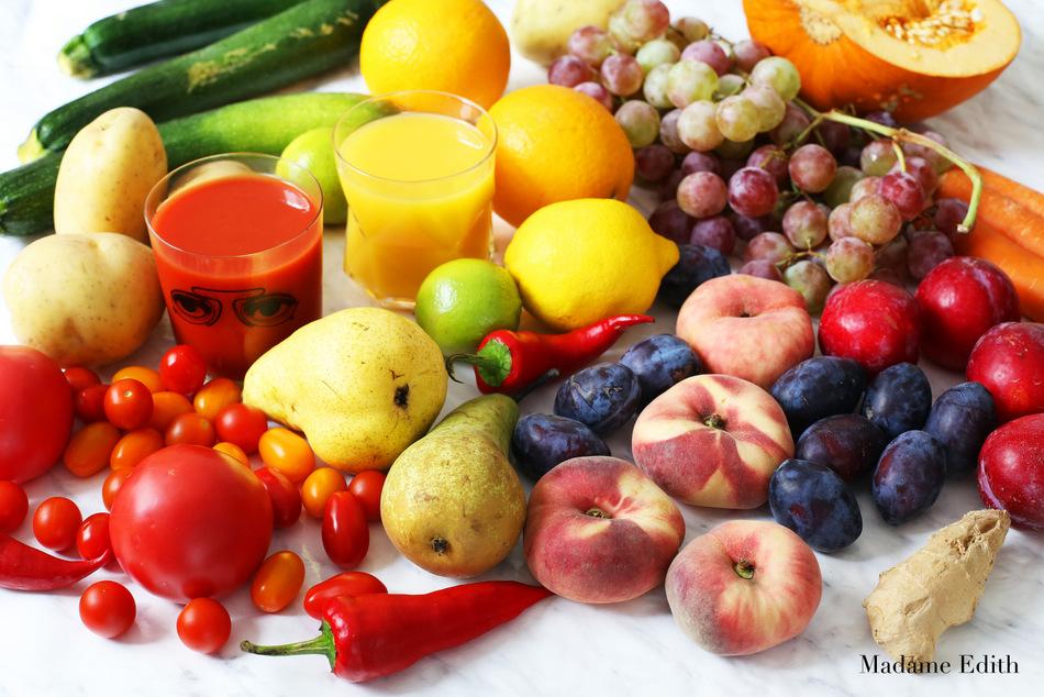 5 porcji warzyw i owoców