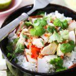 Kokosowe curry z kurczakiem