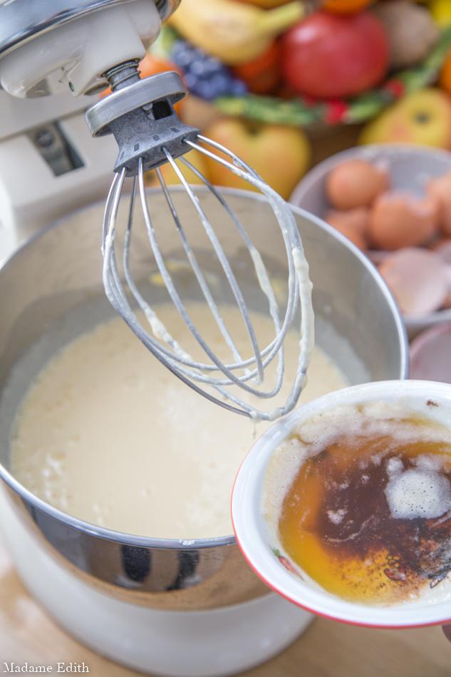 sernik z palonym masłem