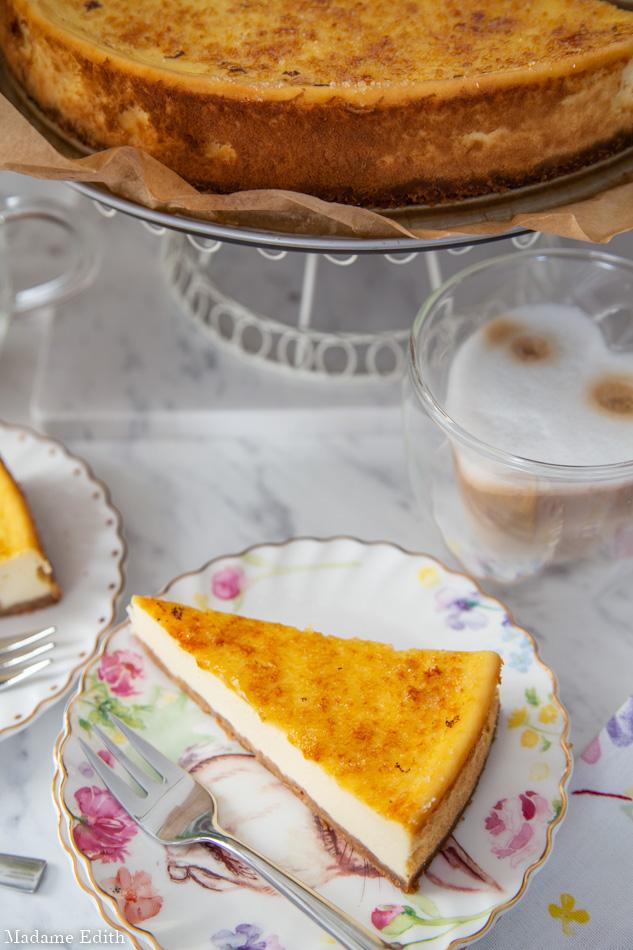 sernik crème brûlée