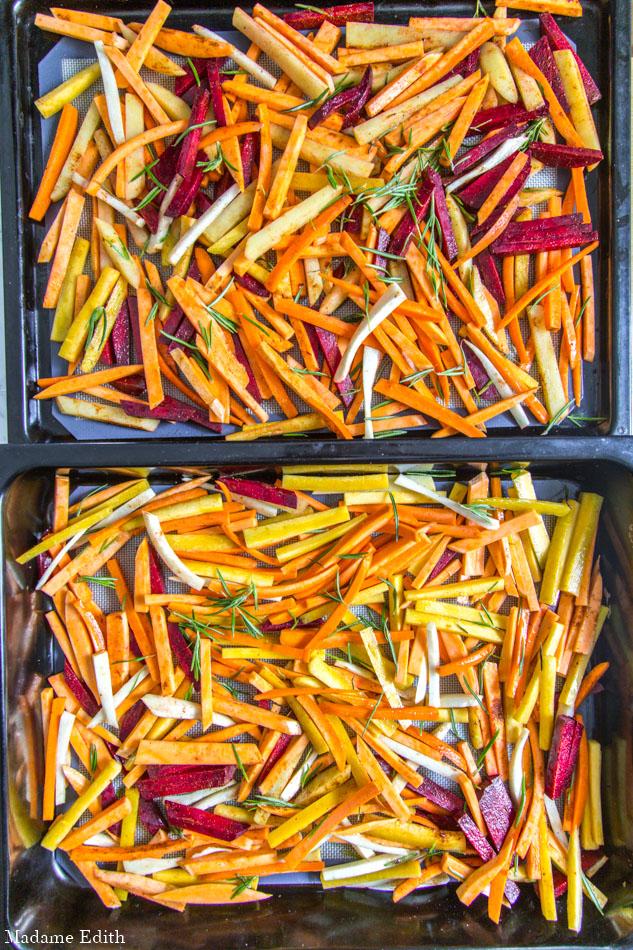 frytki warzywne