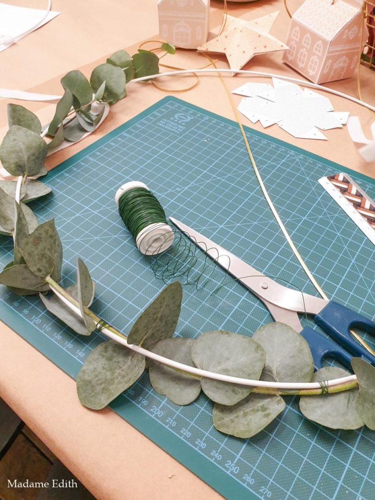wianek z eukaliptusa