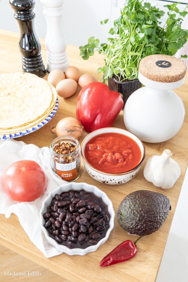 Jajka po meksykańsku