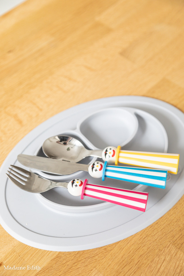 Naczynia i sztućce dla dzieci