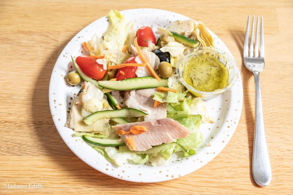 Bezglutenowy makaron pomodoro - bardzo dobry, świetnie doprawiony, duża porcja.